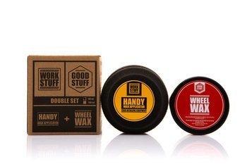Good Stuff Wheel Wax 100ml wosk do felg + Handy Wax Applicator