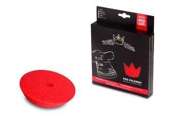 Royal Pads AIR Soft Pad for DA 150mm  czerwony, miękki pad dedykowany dla maszyn DA