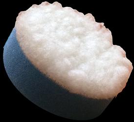 Royal Pads Nano Synthetic Wool Cut 35mm mały pad polerski, mocno tnący z syntetycznym futrem