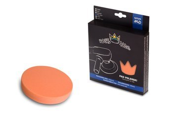 Royal Pads PRO One Step Pad 80mm pomarańczowy, twardy pad polerski przeznaczony do korekty